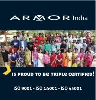 news armor india triple certification   small