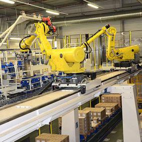 Packing robot thermal transfer ribbons